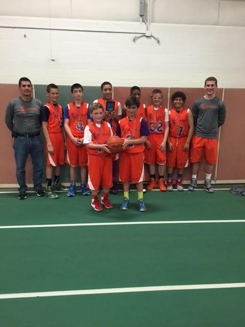6th Grade Boys Runner Up- Power Hoops
