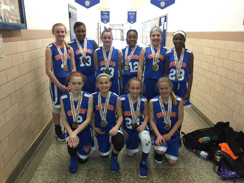 6th Grade Girls Champions- SMAC Bombers