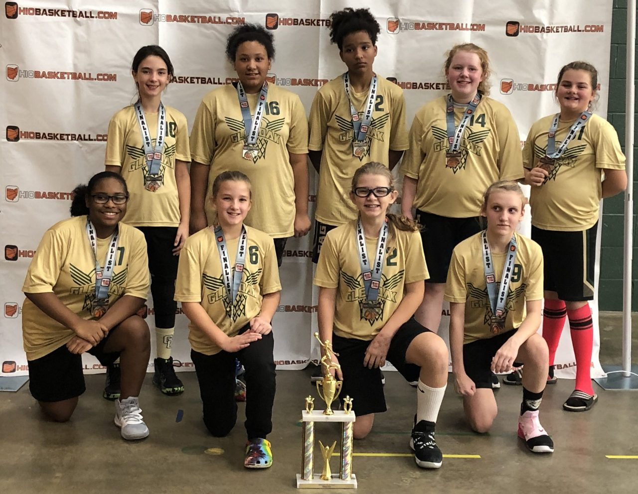 6th Grade Girls Gold Runner-Up Glen oak