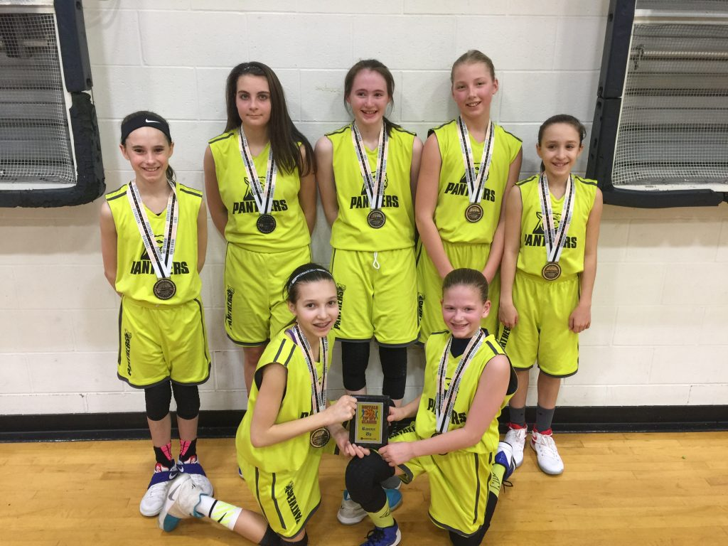 6th Grade Girls Runner Up- Ohio Panthers