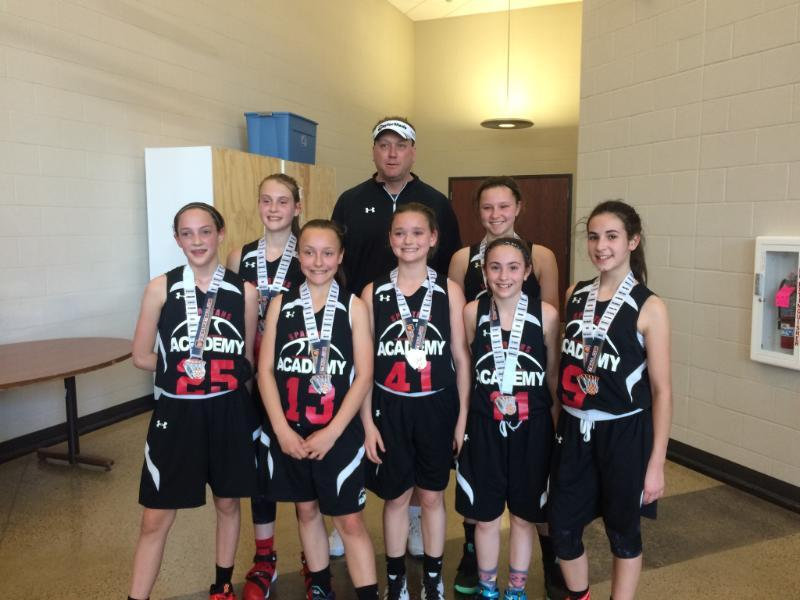 6th Grade Girls Runner Up_ TNBA