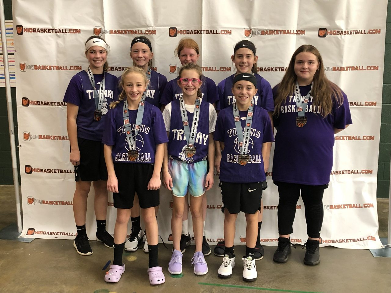 6th Grade Girls Silver Champions triway