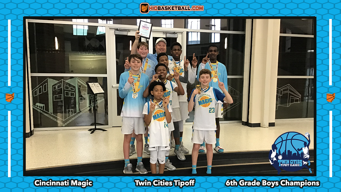 6th grade boys champs magic