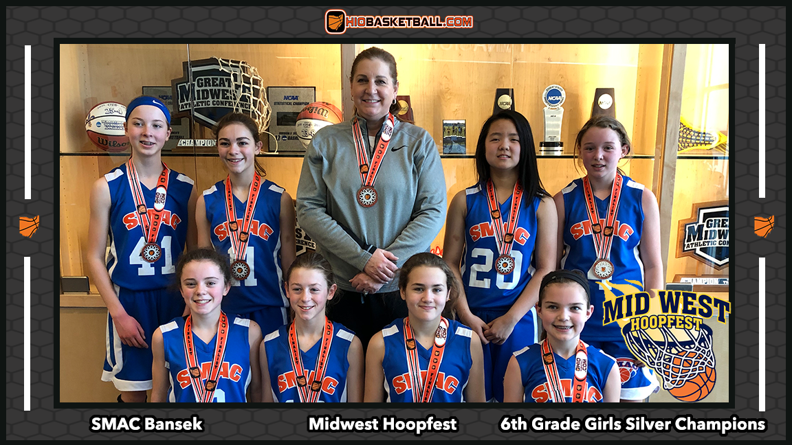 6th grade girls silver champs