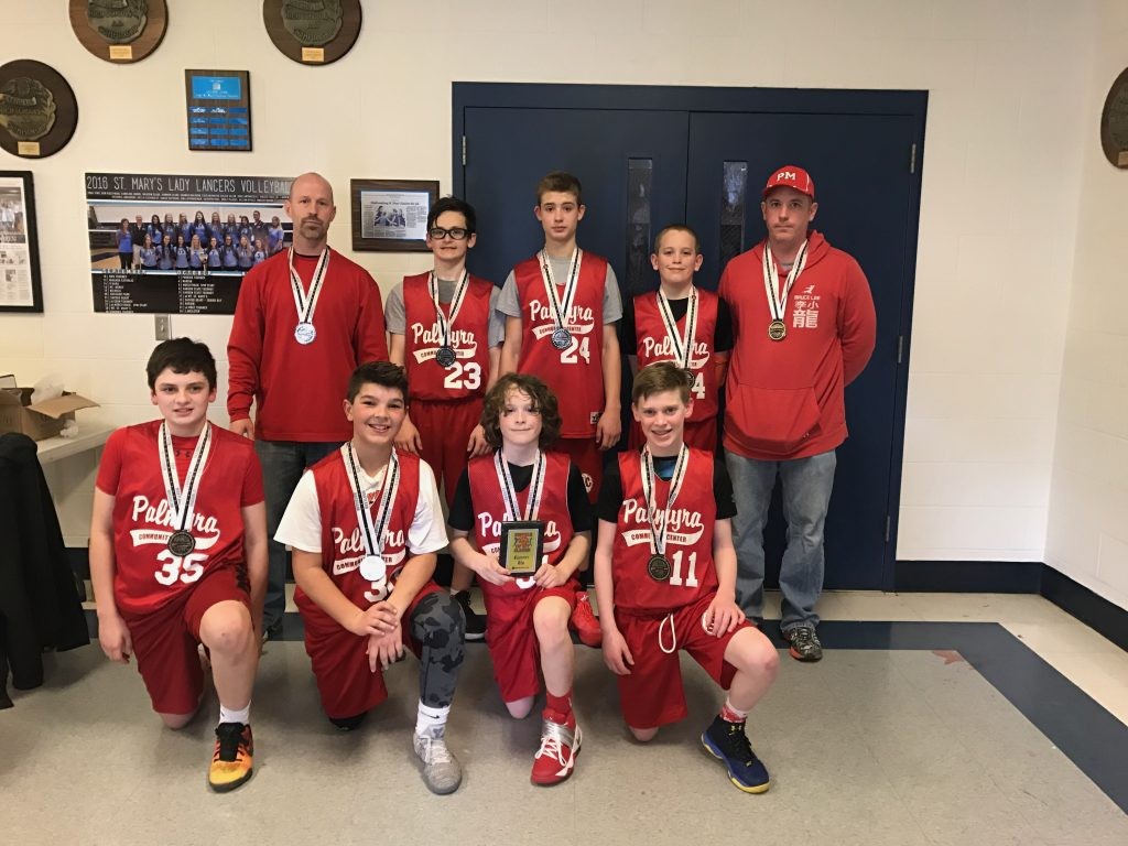 7th Grade Boys Runner Up- Raider