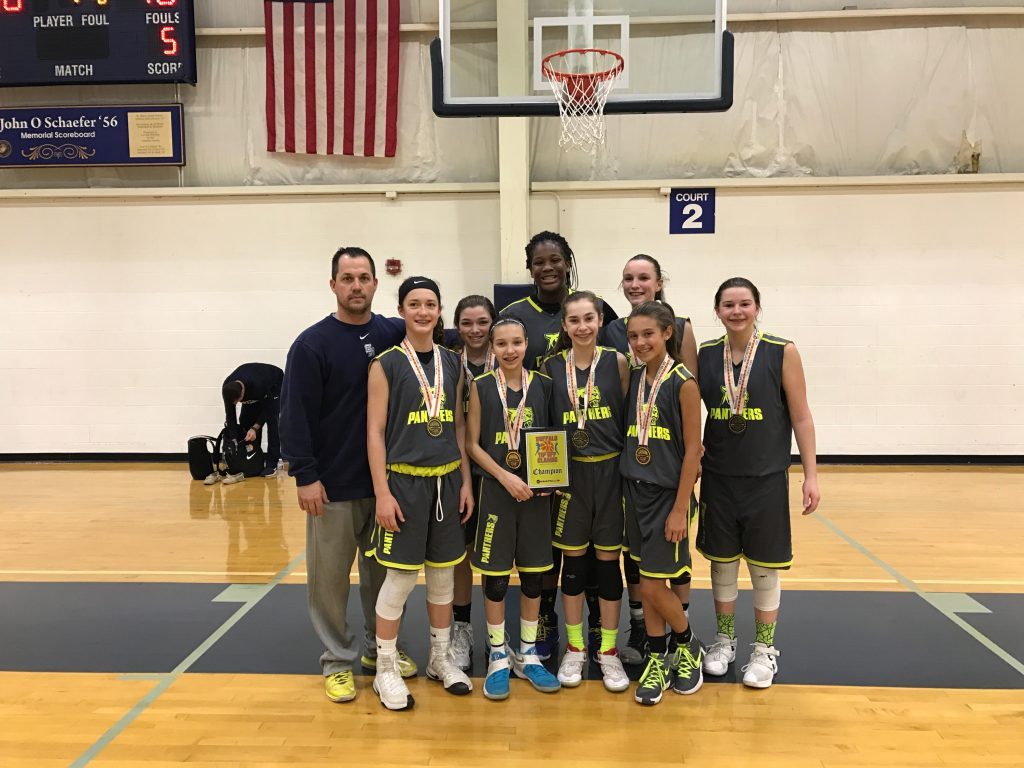 7th Grade Girls Champion- Ohio Panthers