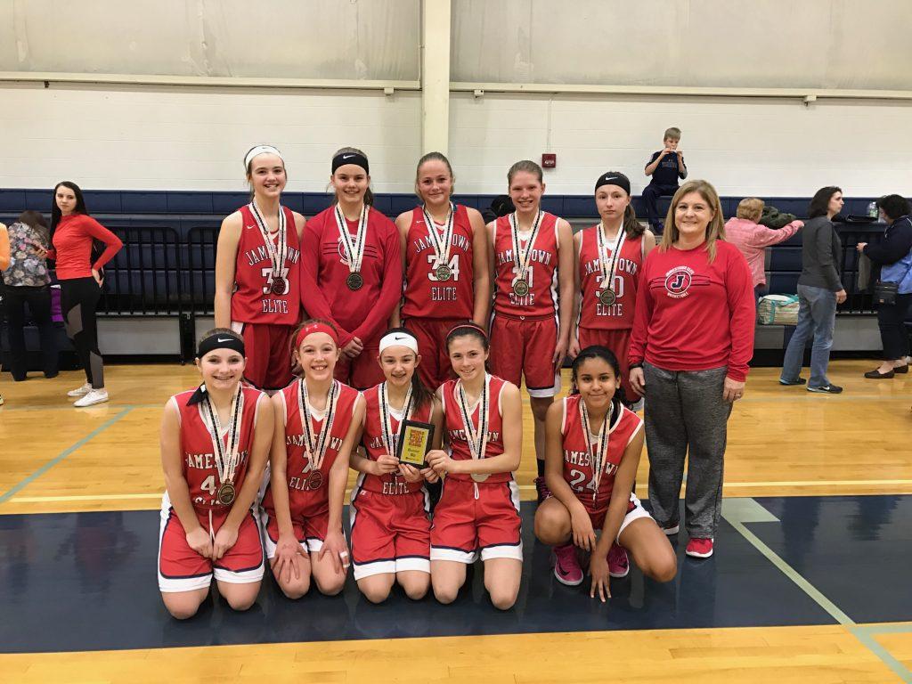 7th Grade Girls Runner Up- Jamestown Elite