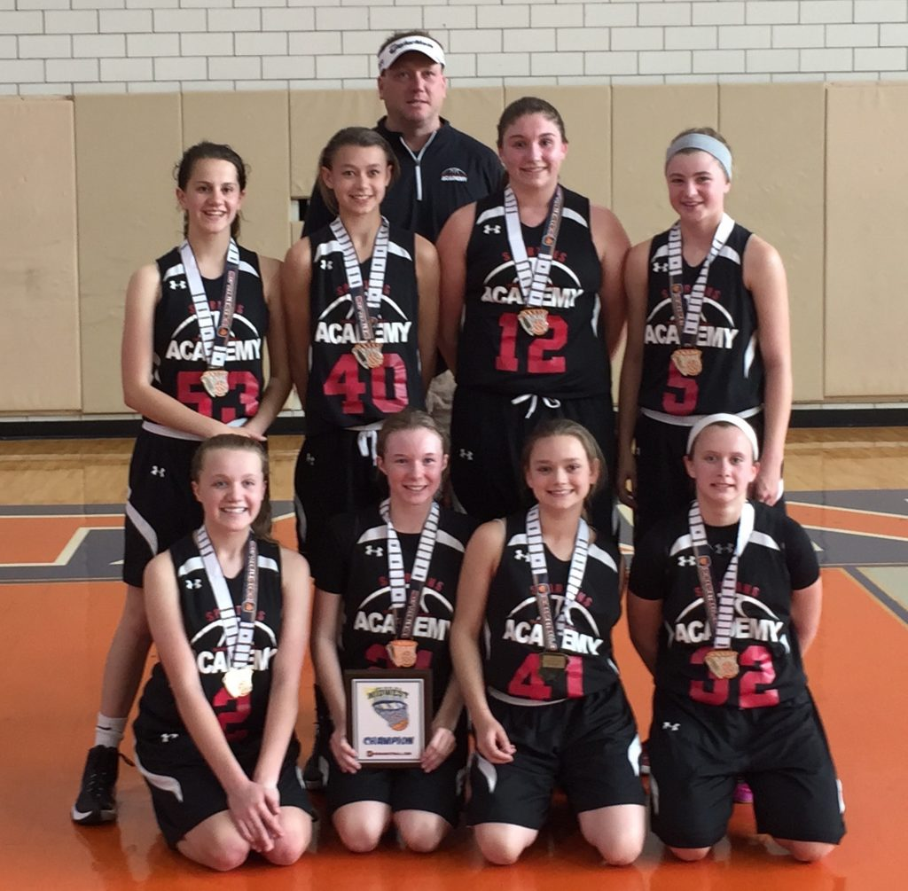 7th Grade Girls TNBA East Spartans