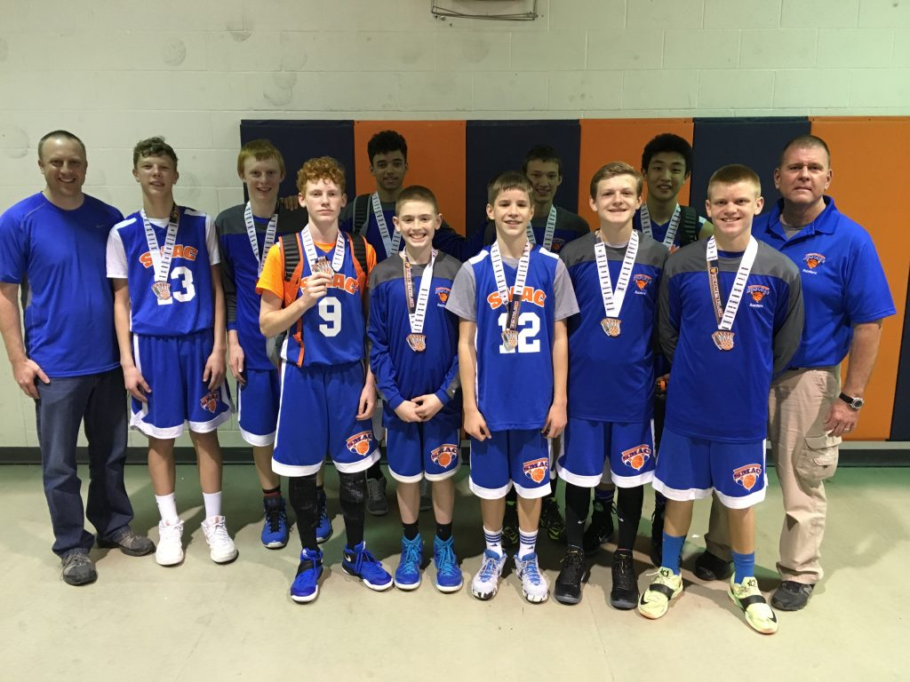 8th Boys Runner Up_ SMAC
