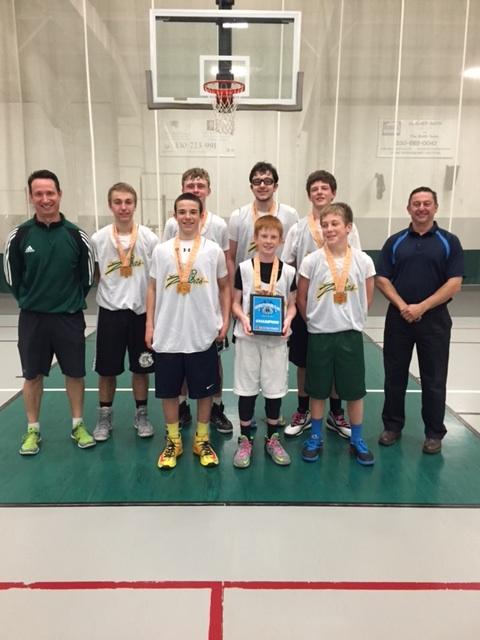 8th Grade Boys Champion- Zabias