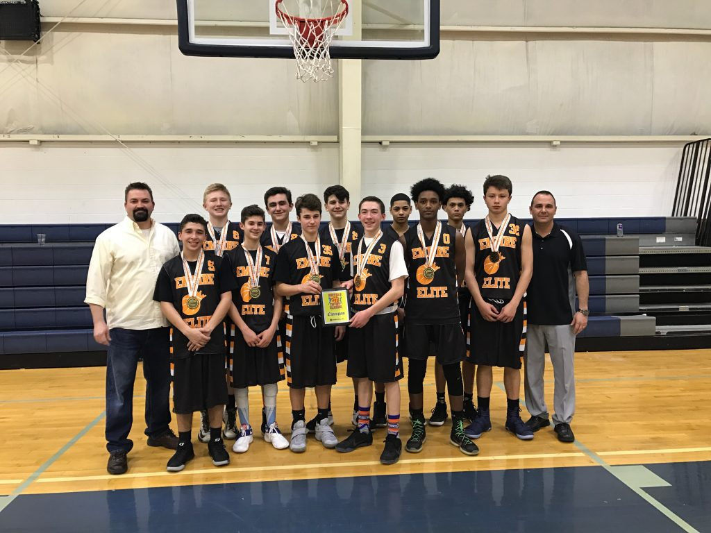 8th Grade Boys Champions- Empire