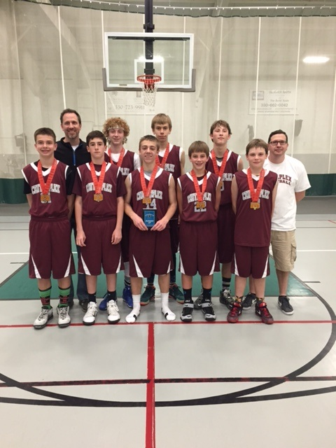 8th Grade Boys Runner Up- Center Plex