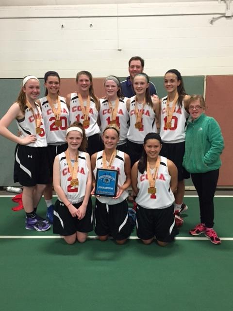 8th Grade Girls Champion- COSA