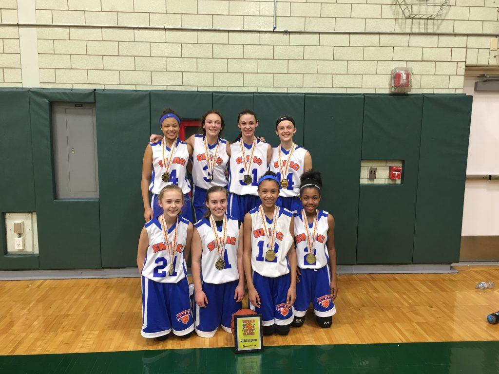 8th Grade Girls Champions- SMAC Elite