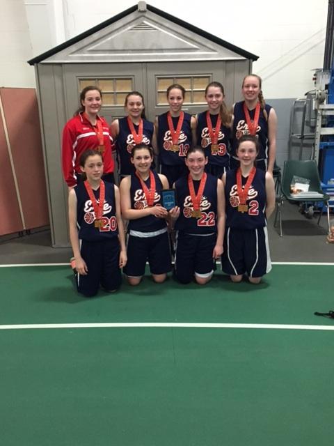 8th Grade Girls Runner Up- Erie Saints