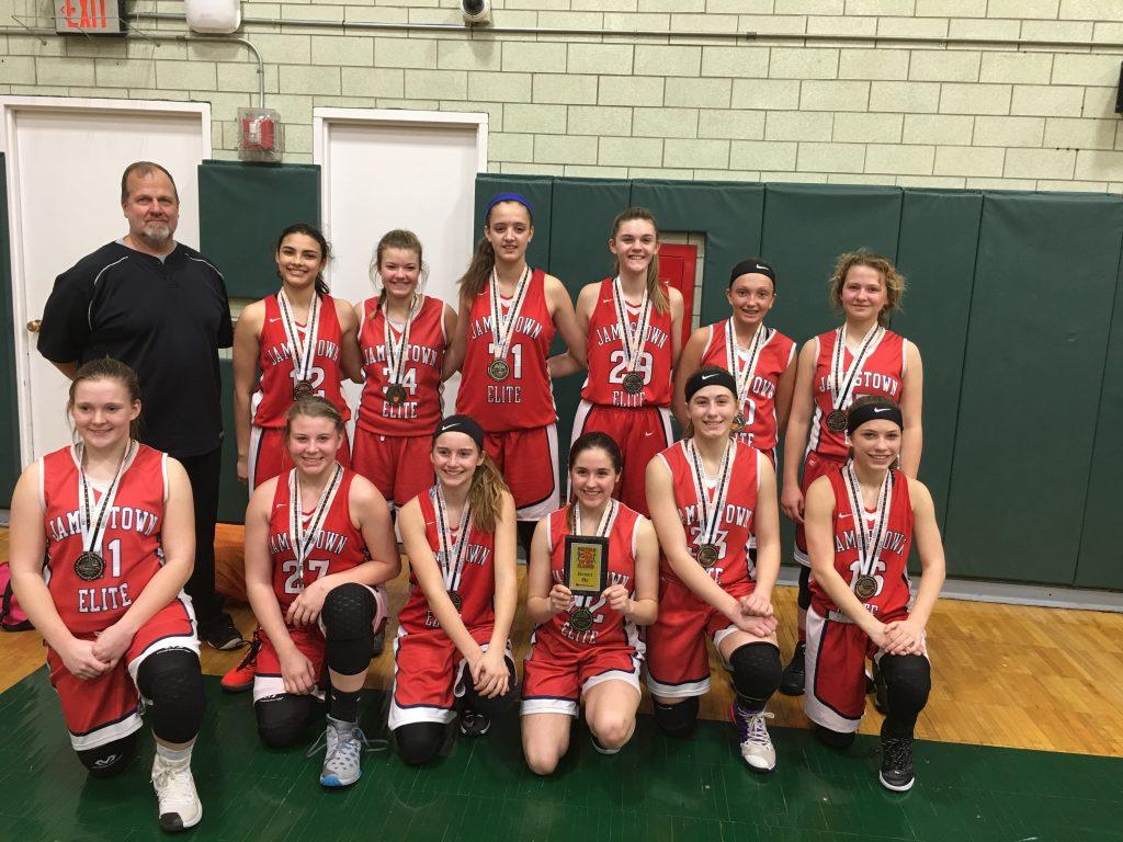 8th Grade Girls Runner Up-Jamestown Elite