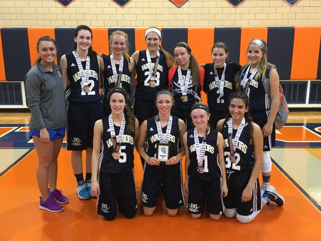 8th Grade Girls Runner Up_ DG Warriors