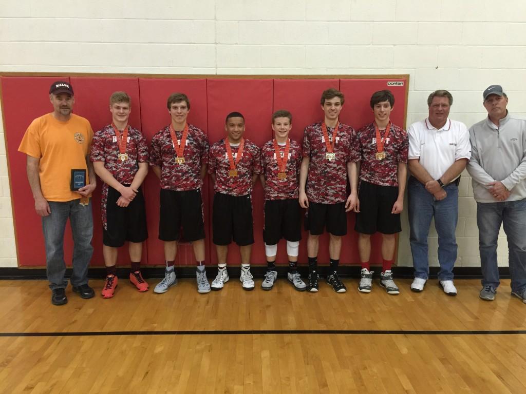 9th boys runner up Trumbel Heat