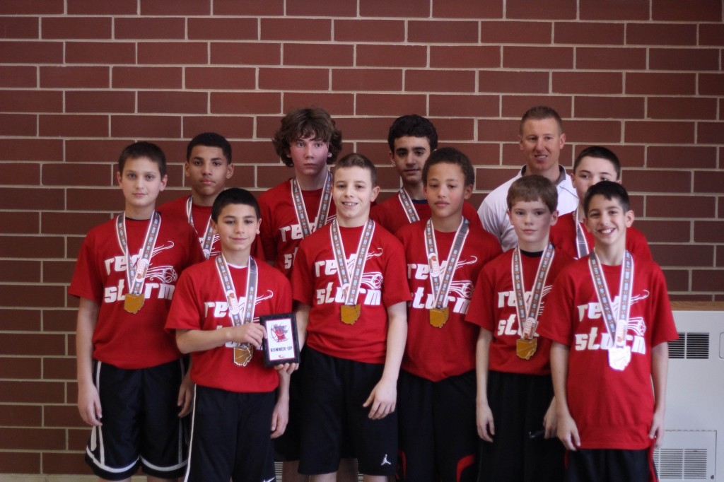 NEw Castle 6th boy runner  up RED STORM