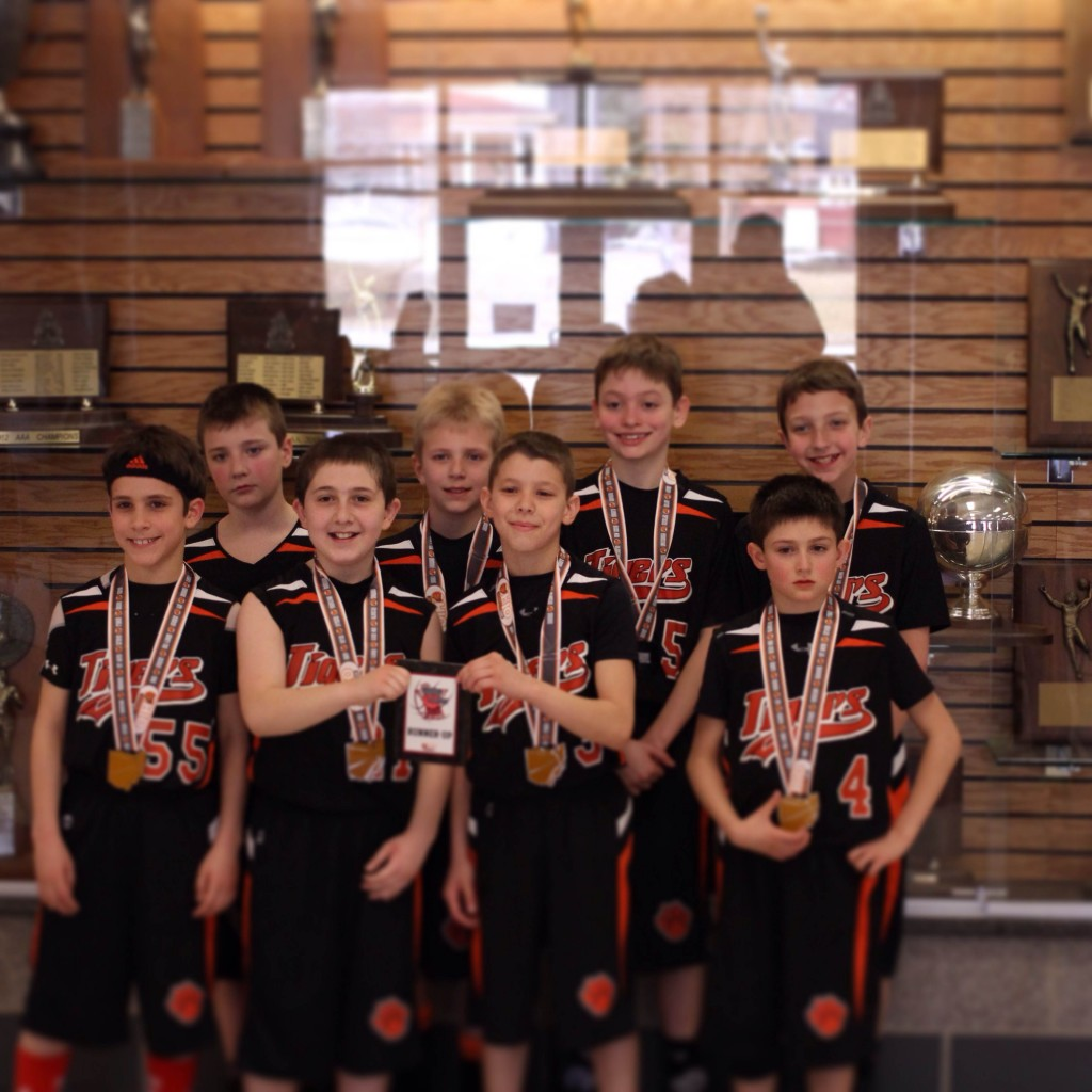 New castle 4th boy runner up Tigers