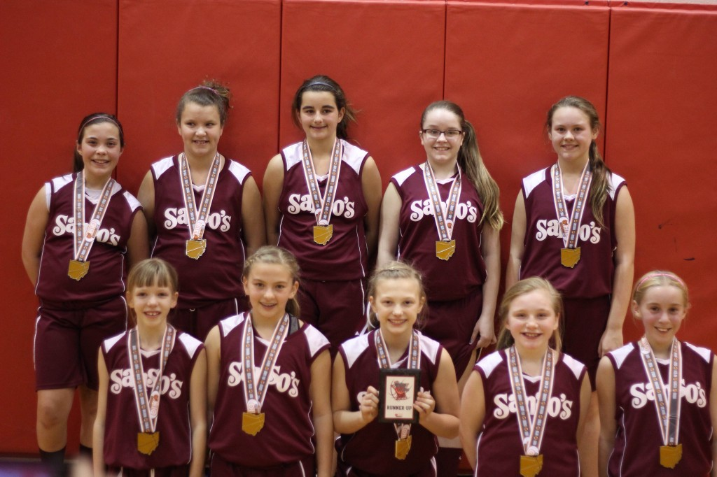 new castle 6th grade girl runner up-sanso