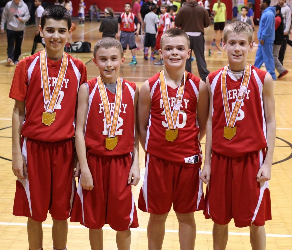 Presidents Day 6th Grade Boys Champions 2014