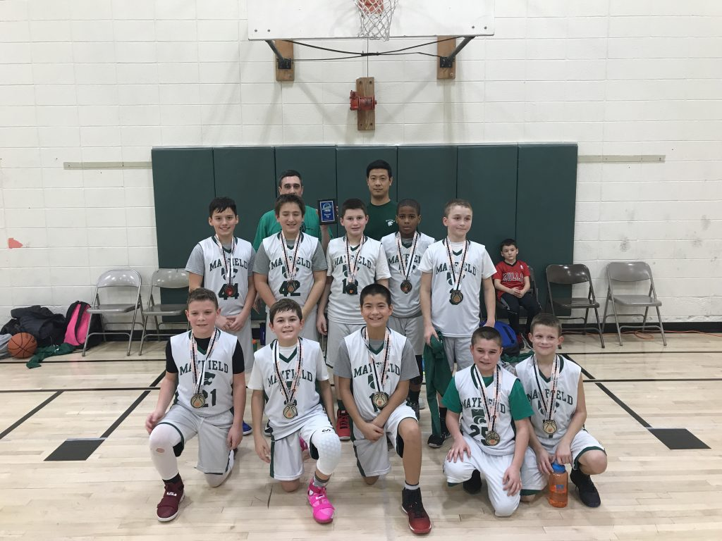 5TH BOYS RUNNER UP – MAYFIELD