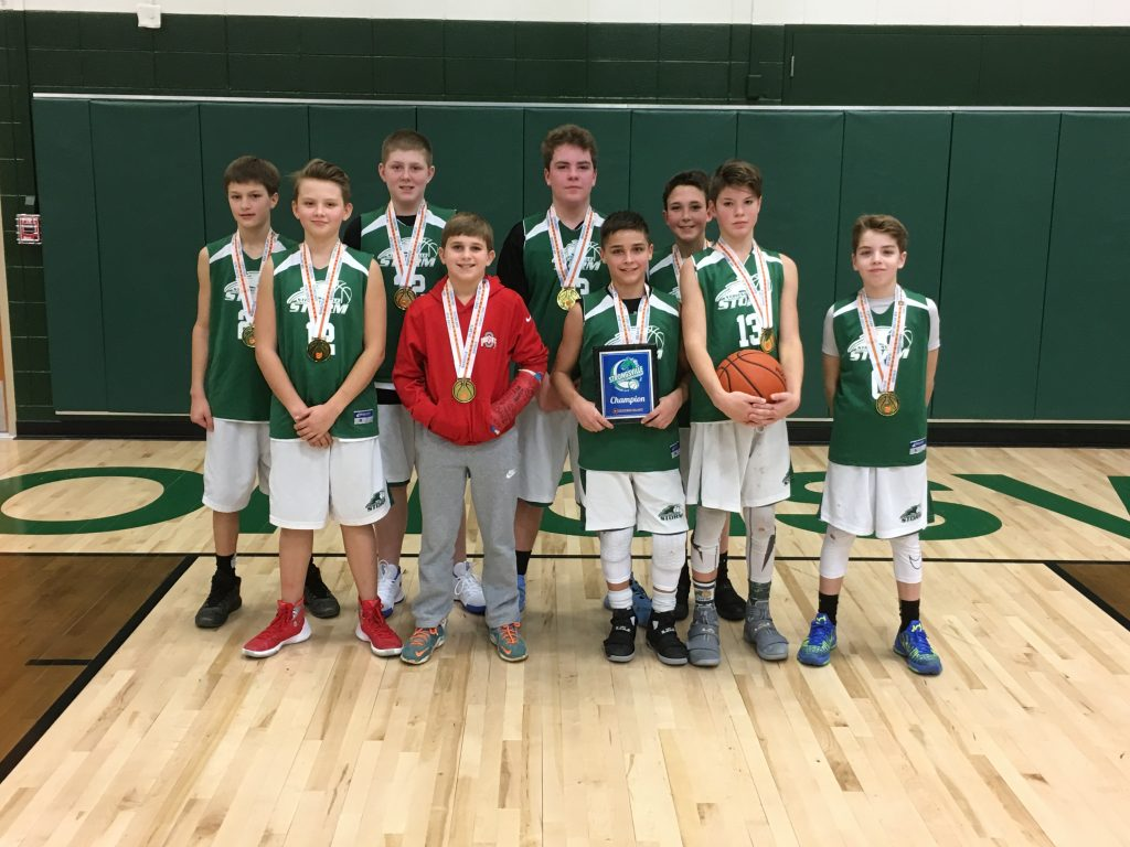 6TH BOYS CHAMP – STRONGSVILLE STORM GREEN