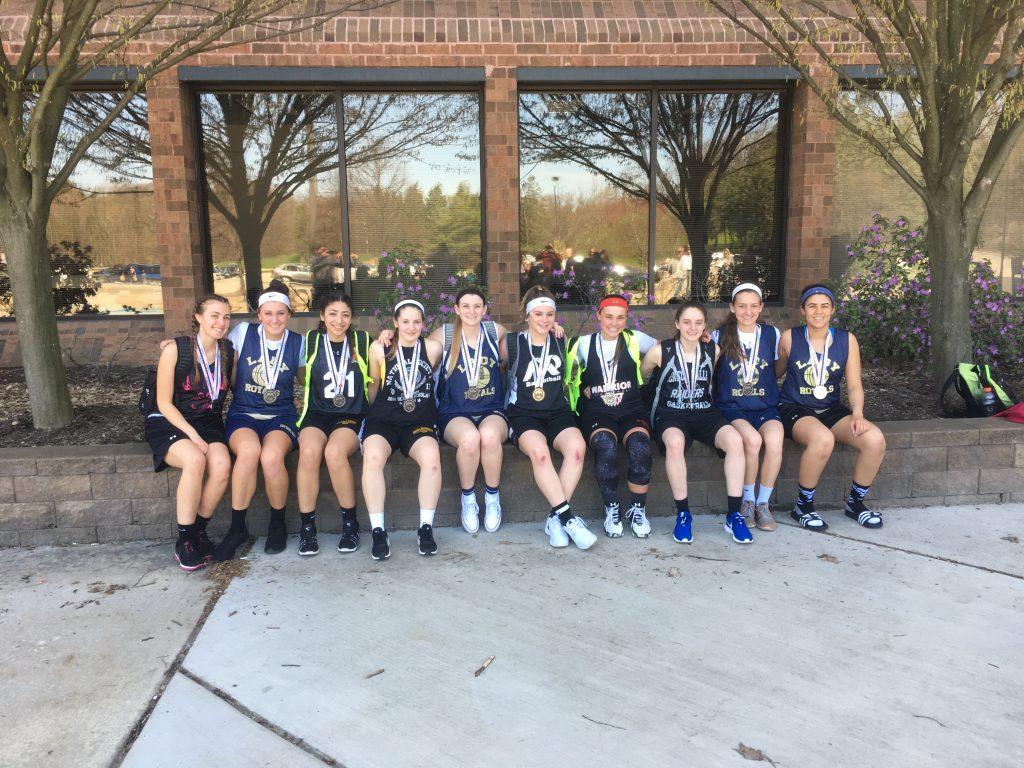 Varsity Girls Runner Ups Crons