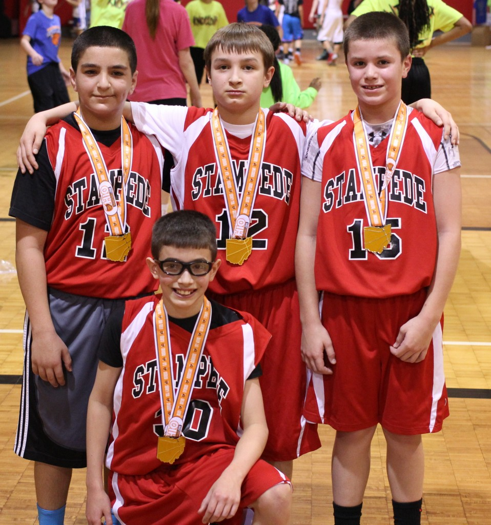 Presidents Day Boys 5th Grade Champions 2014