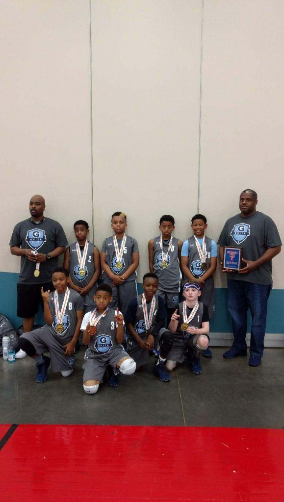 4th Grade Boys Champions