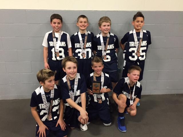 3rd Grade Boys Runner-up – Trojan Youth Athletics