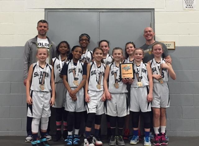 4th Grade Girls Champion – Solon Runners