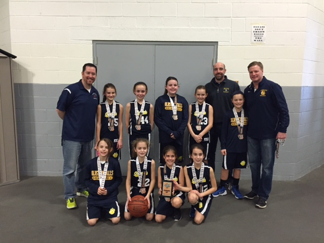 4th Grade Girls Runner-up – Olmsted Falls