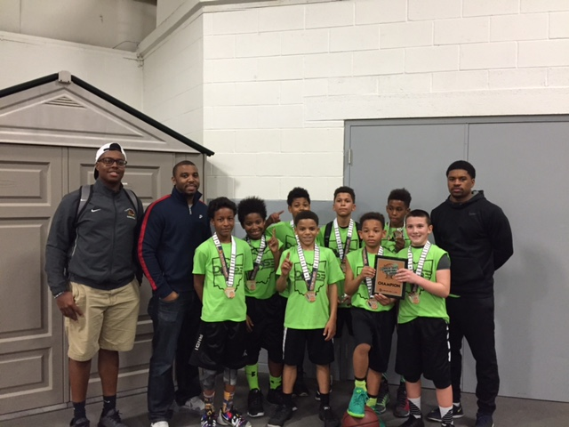 5th Boys Champions – Ohio Hoopsters