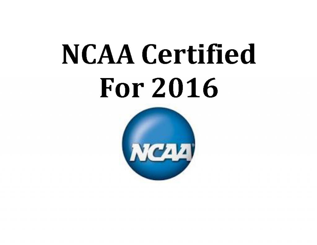 NCAA Certified