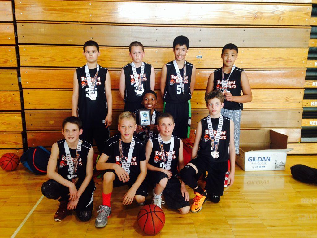 6th Grade Boys Champion Backyard Ballers
