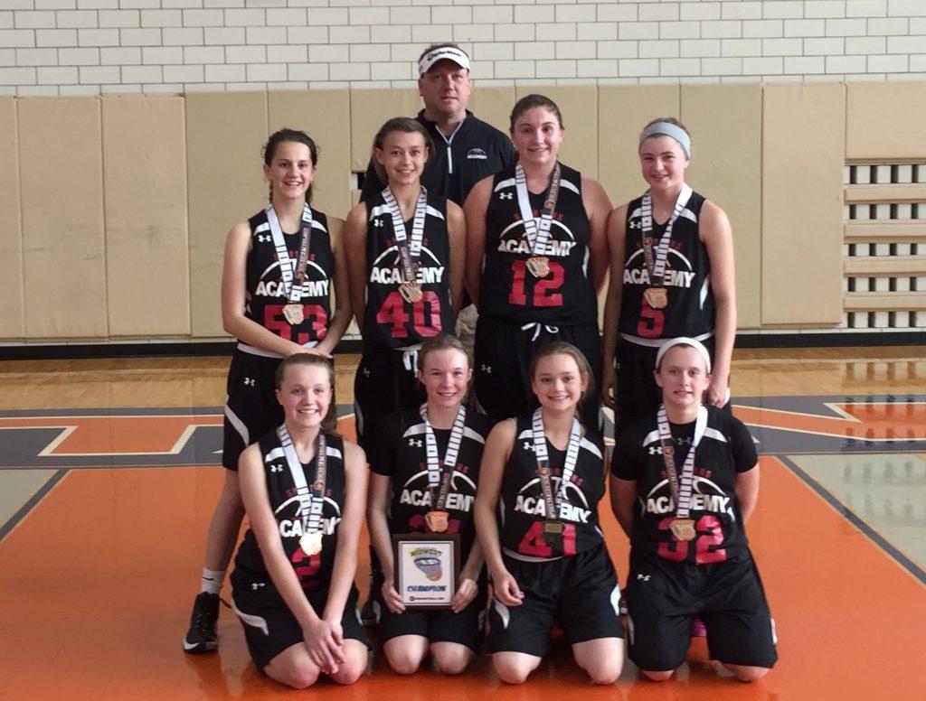 7th Grade Girls Champion TNBA East Spartans