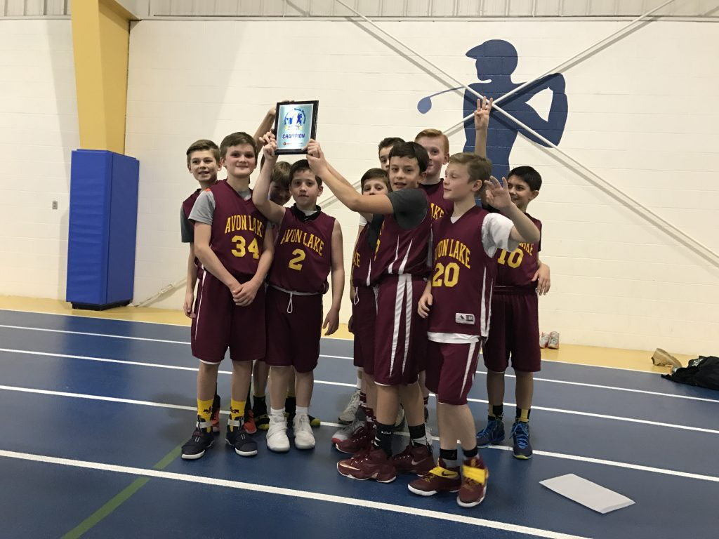 5th Grade Boys Champion – Avon Lake