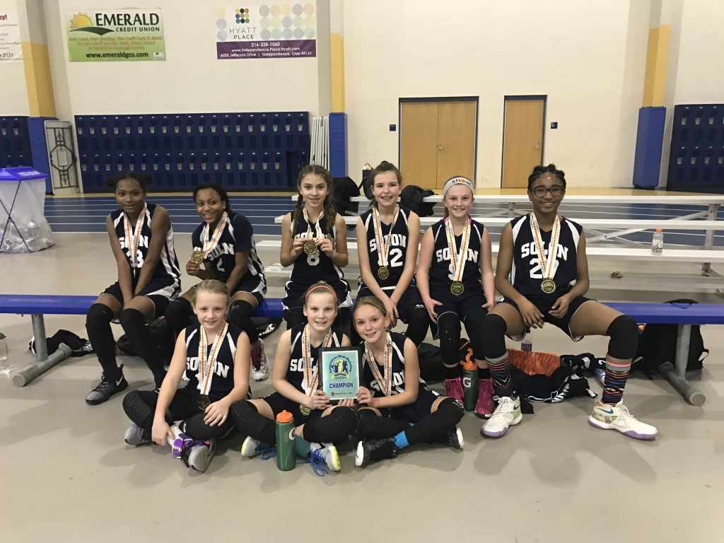 5th Grade Girls Champion – Solon