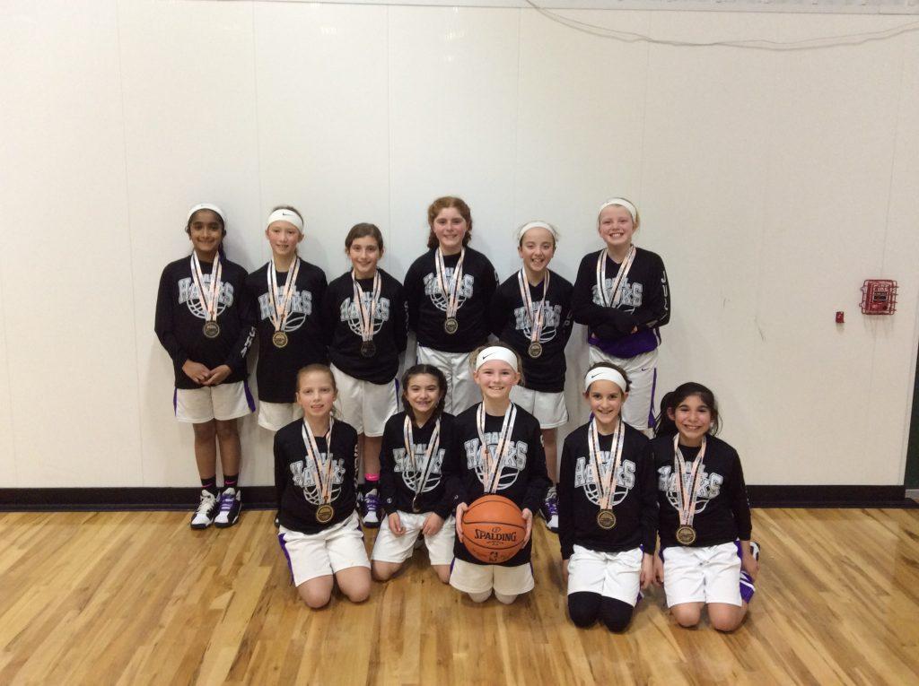 4th Girls Runner up – Aurora Ball Hawks