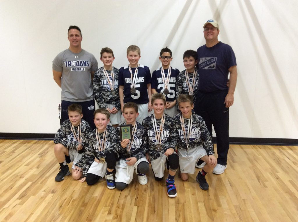 4th Runner up – Trojan Youth Athletics