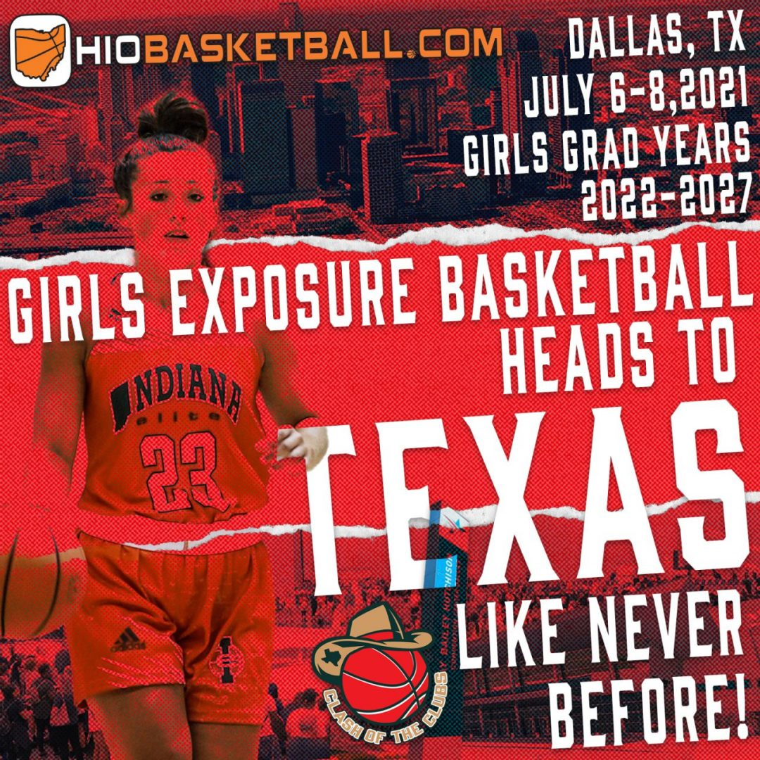 girls exposure basketball heads to texas new
