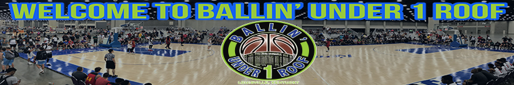 welcome to ballin under 1 roof August banner dimenson